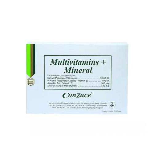 CONZACE - Best Multivitamins Philippines