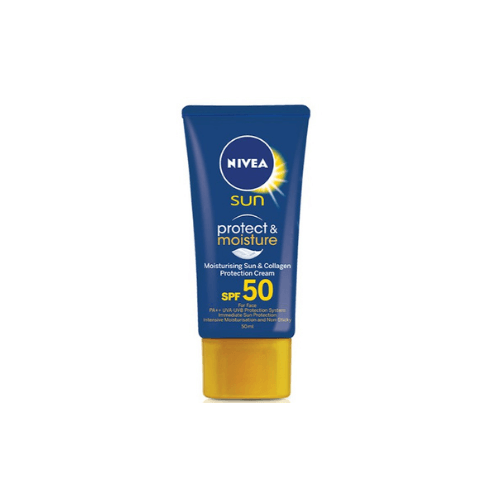 NIVEA Sun Protect & Moisture Face Cream SPF 50
