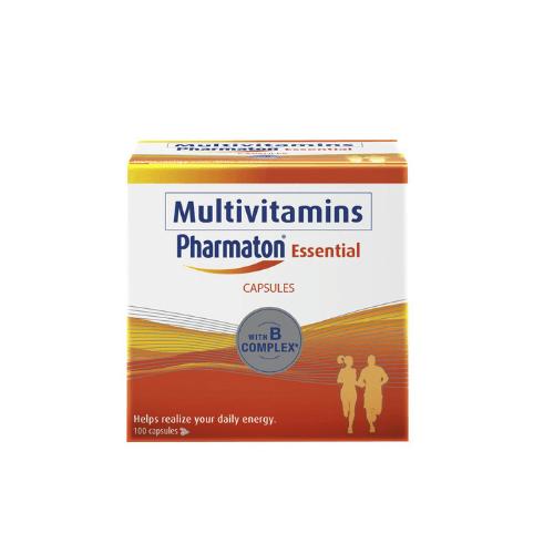 Pharmaton Essential Multivitamins - Best Multivitamins Philippines