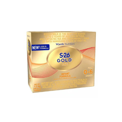 S-26 Gold One milk for baby 0-6 months philippines