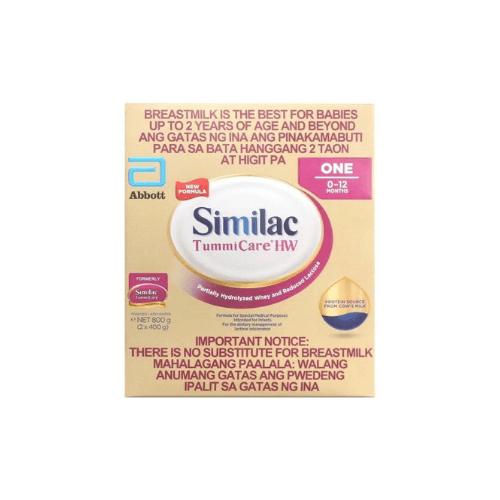 Similac TummiCare HW One Infant Formula 0-6 months